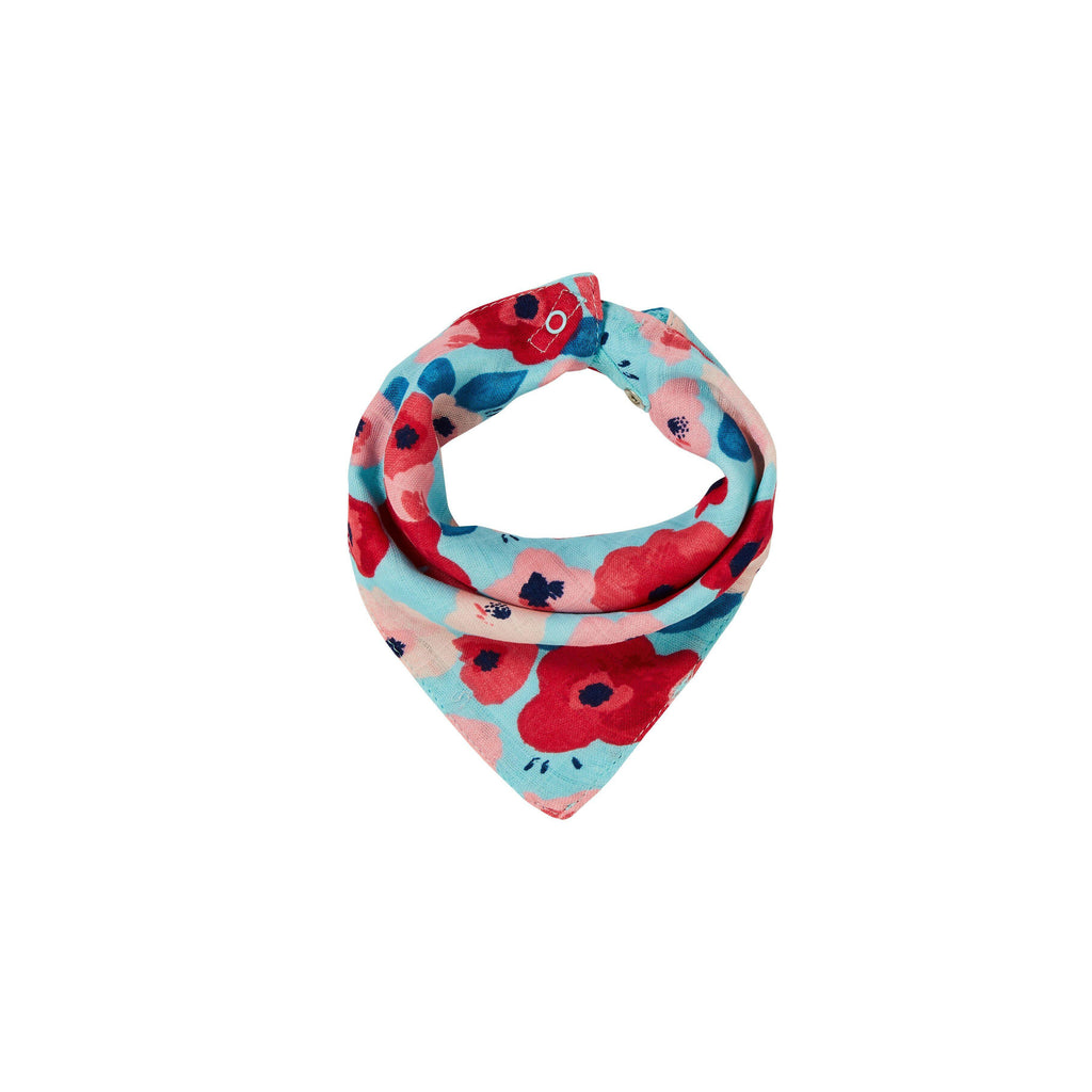 Angel Dear Poppies Bandana Bib-Baby - Feeding-Angel Dear-Eden Lifestyle