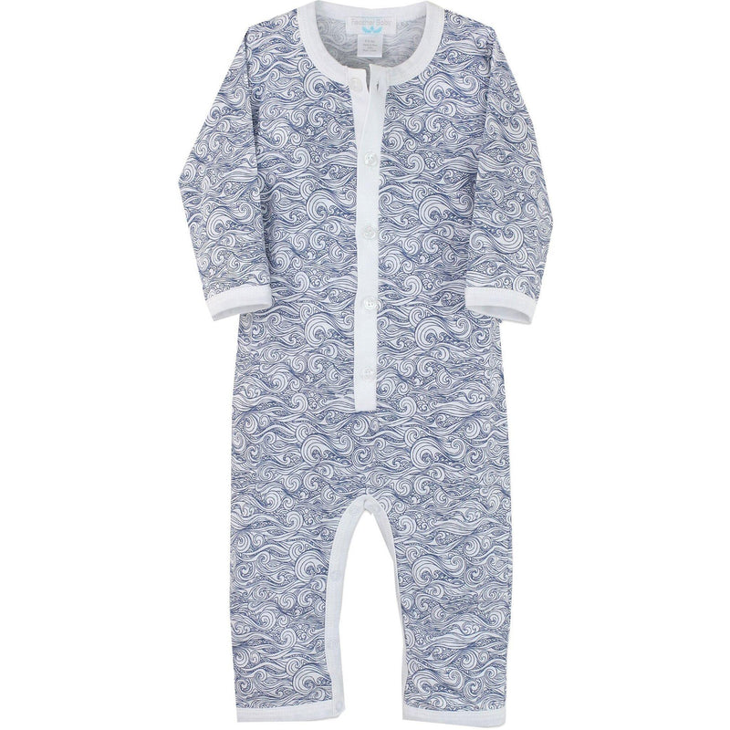 Feather Baby, Romper,  Anime Wave Romper