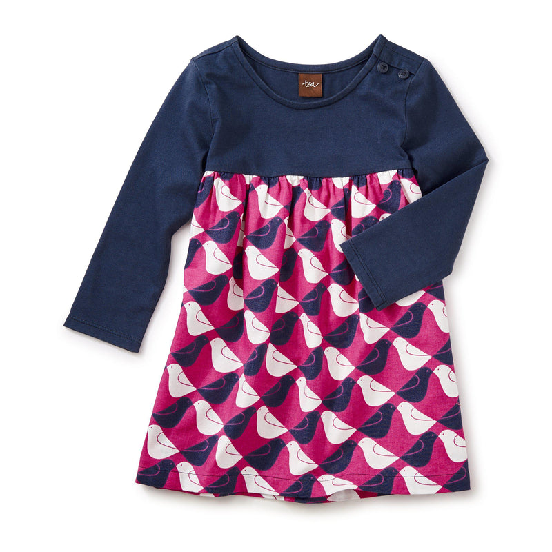 Tea, Dress,  Argyle Birds Dress