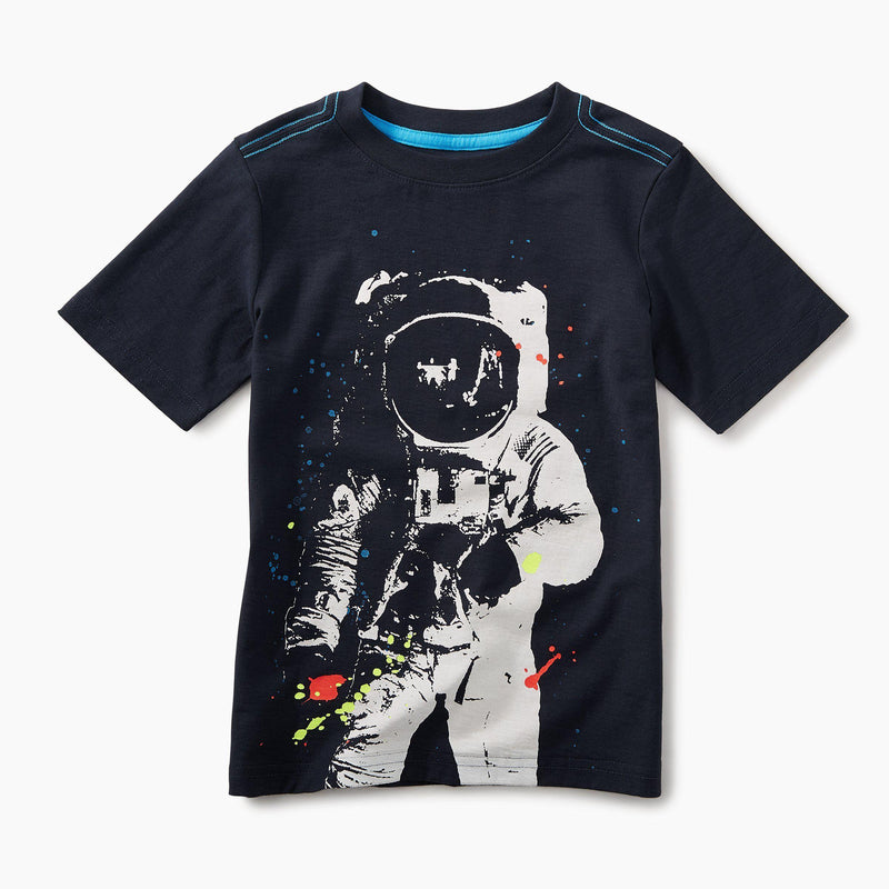 Tea, Tees,  Astronaut Graphic Tee