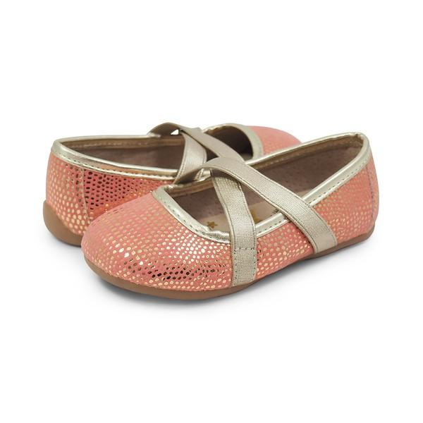 Livie & Luca Aurora - Golden Coral-Shoes - Girl-Livie & Luca-4-Eden Lifestyle