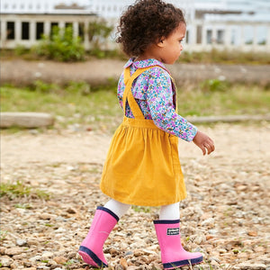 Children's Rain Boots-Shoes - Boy-Jojo Maman Bebe-4-Fuchsia-Eden Lifestyle