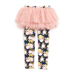 Rock Your Baby Baby Circus Tutu Tights-Baby Girl Apparel - Leggings-Rock Your Baby-3-6M-Eden Lifestyle