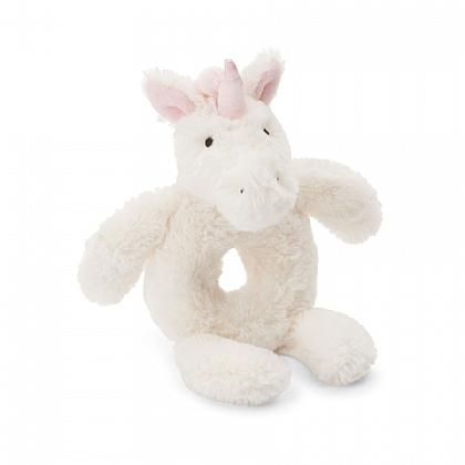 Jellycat, Gifts,  Bashful Unicorn Ring Rattle
