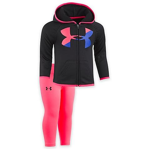 Big Logo Hoody-Baby Girl Apparel - Outfit Sets-Under Armour-2T-Eden Lifestyle