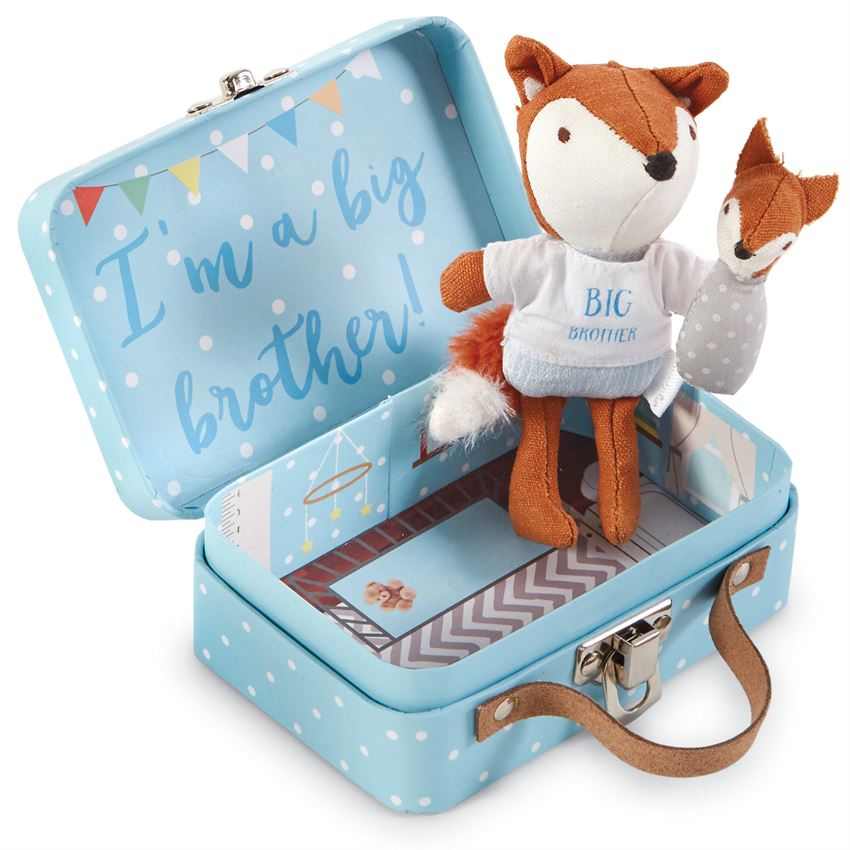 Mud Pie, Gifts - Kids Misc,  Mud Pie - Big Brother Fox-In-A-Box