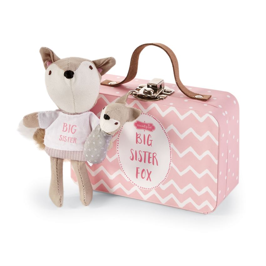 Big Sister Fox-In-A-Box-Gifts - Kids Misc-Mud Pie-Eden Lifestyle
