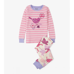 Hatley Birds of a Feather Pajama Set-Girl - Pajamas-Hatley-2-Eden Lifestyle