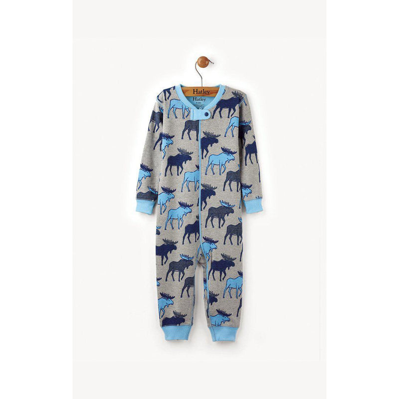Hatley, Romper,  Blue Moose Coverall