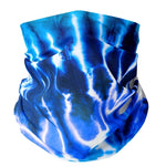 Eden Lifestyle Boutique, Masks,  Kids Blue Tie Dye Gaiter
