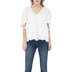 Bobeau, Women - Shirts & Tops,  Bobeau Nyla Flutter Sleeve Top