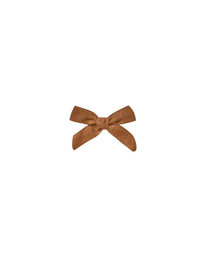 Rylee and Cru, Accessories - Bows & Headbands,  Rylee & Cru Cinnamon Bow