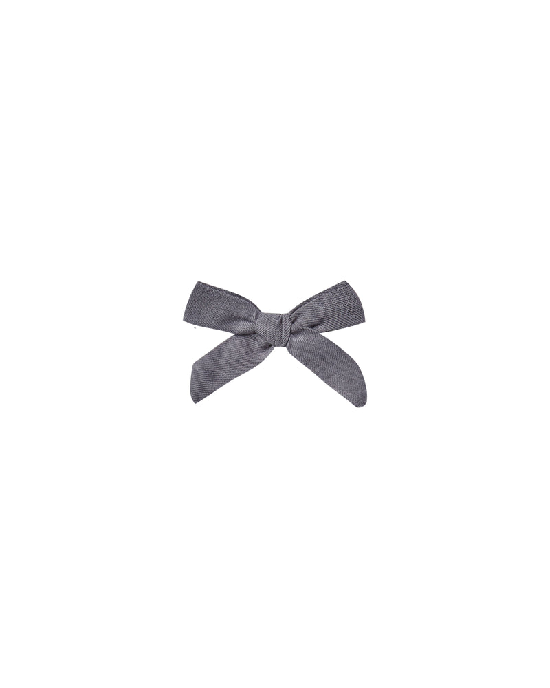 Rylee and Cru, Accessories - Bows & Headbands,  Rylee & Cru Indigo Bow
