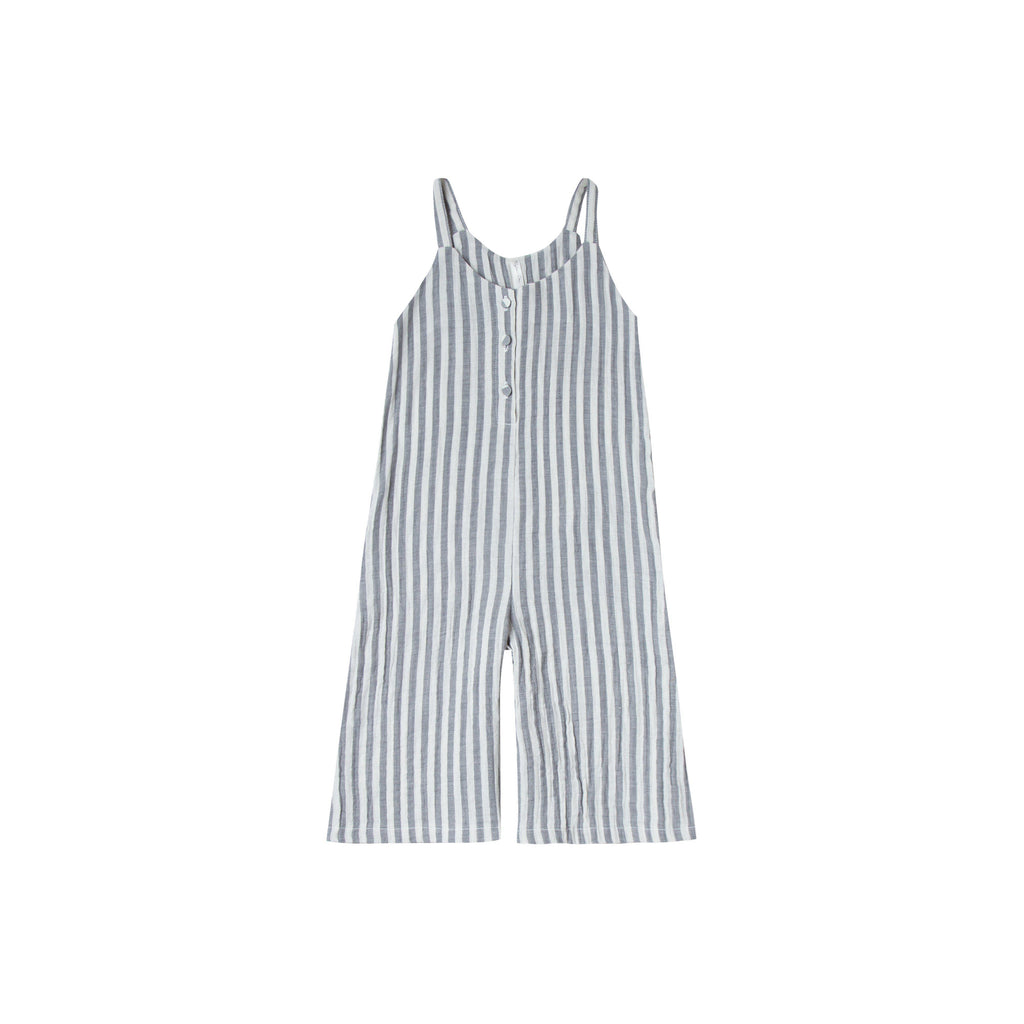 Rylee & Cru Storm Stripe Bridgette Jumpsuit-Girl - Rompers-Rylee and Cru-2-3Y-Eden Lifestyle