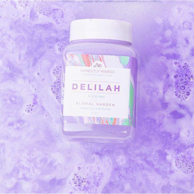 Bubble Fizzing Bath Powder - DELILAH Floral Garden-Gifts - Bath Bombs-Eden Lifestyle-Eden Lifestyle
