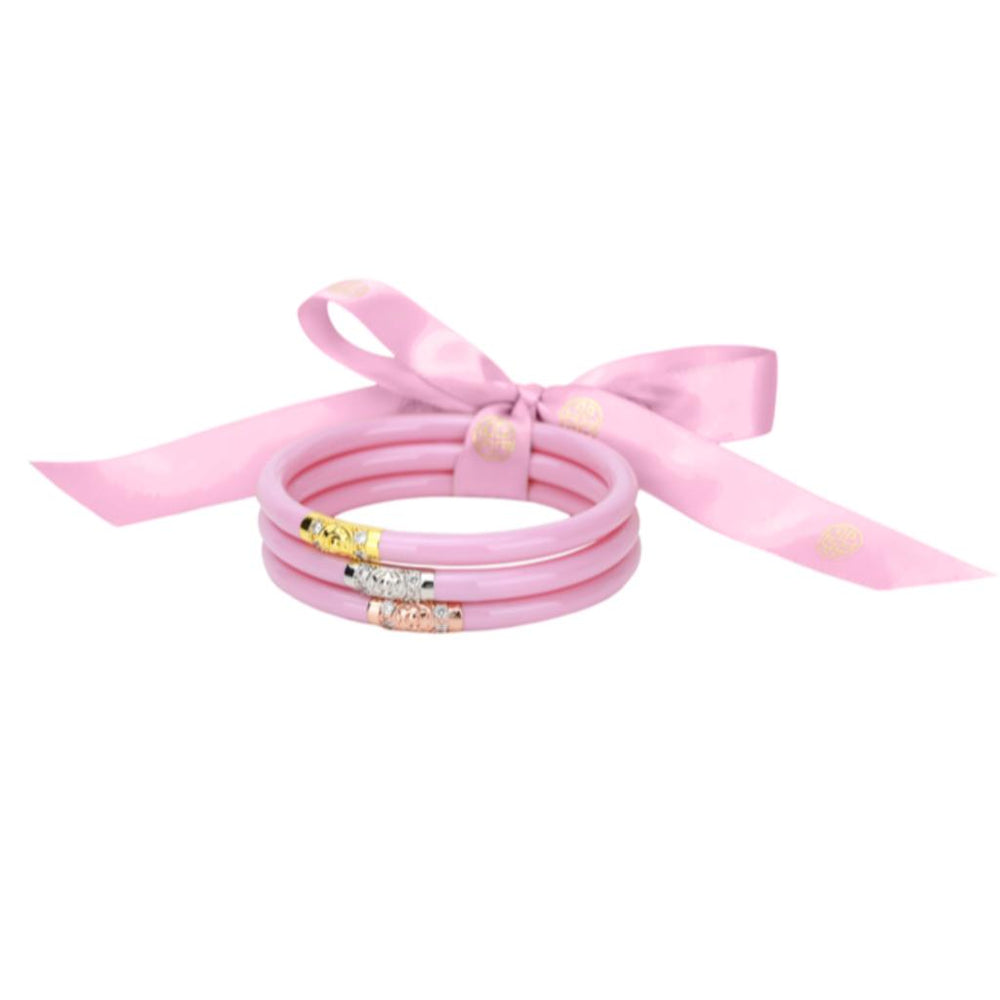 BuDhaGirl THREE KINGS ALL WEATHER BANGLES® (AWB®) - Pink - Eden Lifestyle
