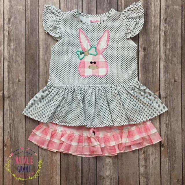 Bunny Top-Girls Set-Natalie Grant-2T-Eden Lifestyle