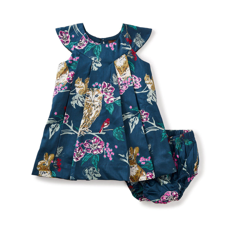 Tea, Dress,  Caledonian Forest Baby Dress