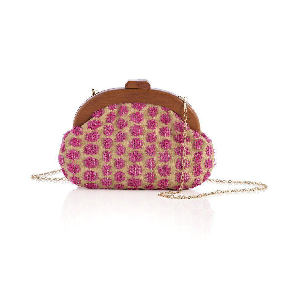 Calico Clutch-Accessories - Handbags-Shiraleah-Eden Lifestyle