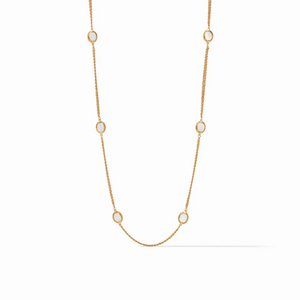 Julie Vos, Accessories - Jewelry,  Julie Vos - Calypso Station Necklace Gold Mother of Pearl