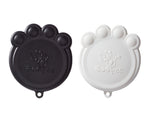 Paw Can Cover Set Black & White