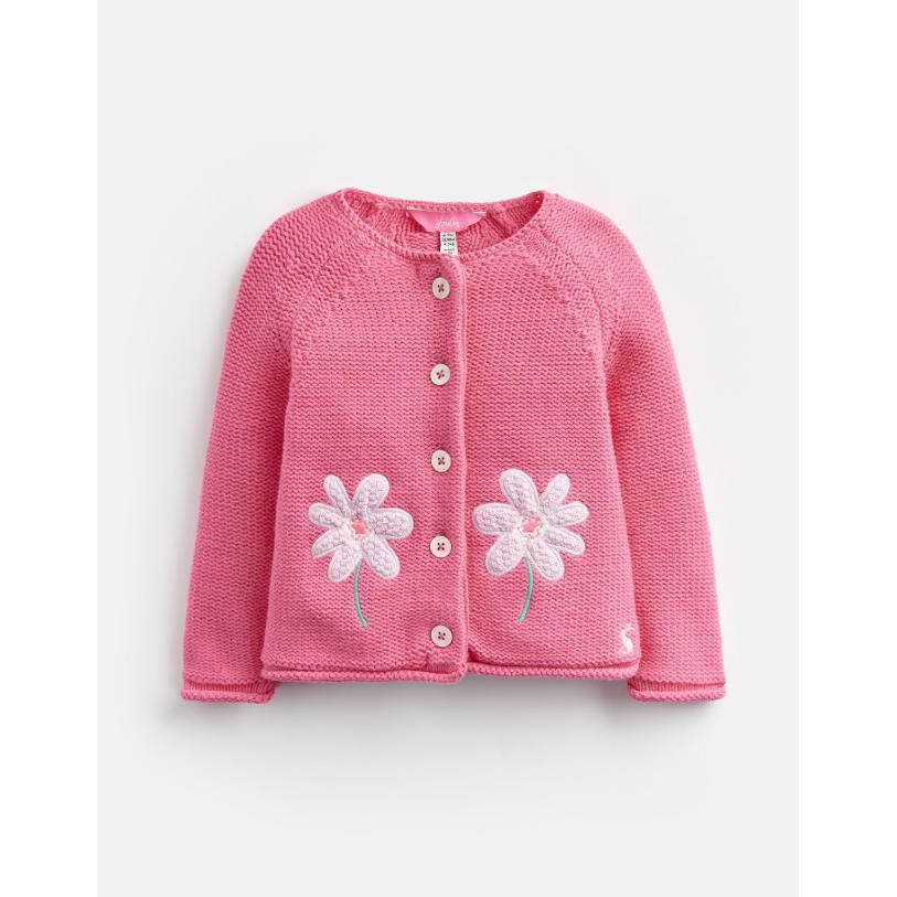 Joules DORRIE KNITTED CARDIGAN-Baby Girl Apparel - Shirts & Tops-Joules-6-9M-Eden Lifestyle