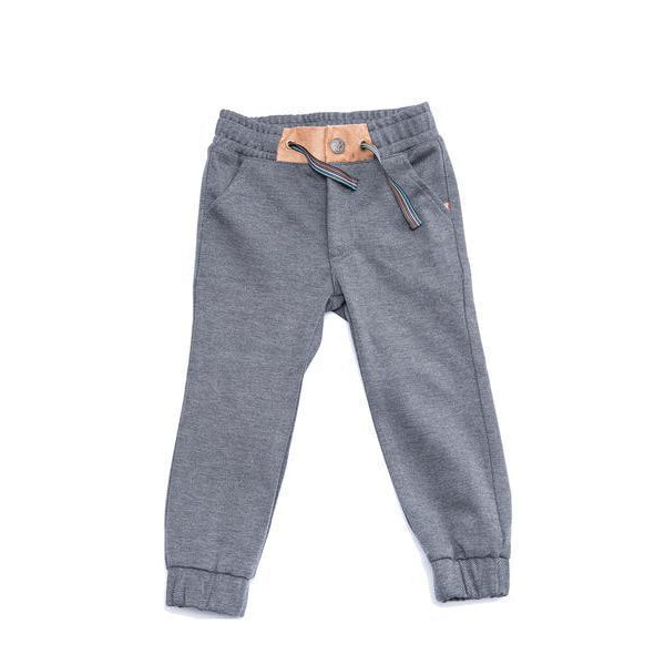 Fore! Axel & Hudson Charcoal Jogger-Baby Boy Apparel - Pants-Fore-12-18M-Eden Lifestyle