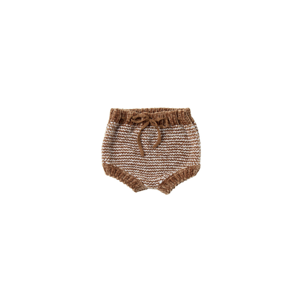 Rylee & Cru Saddle Stripe Chenille Bloomer-Bloomers-Rylee and Cru-0-3M-Eden Lifestyle