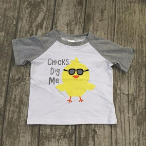 Chicks Dig Me-Baby Boy Apparel - Shirts & Tops-Eden Lifestyle-12-18M-Eden Lifestyle