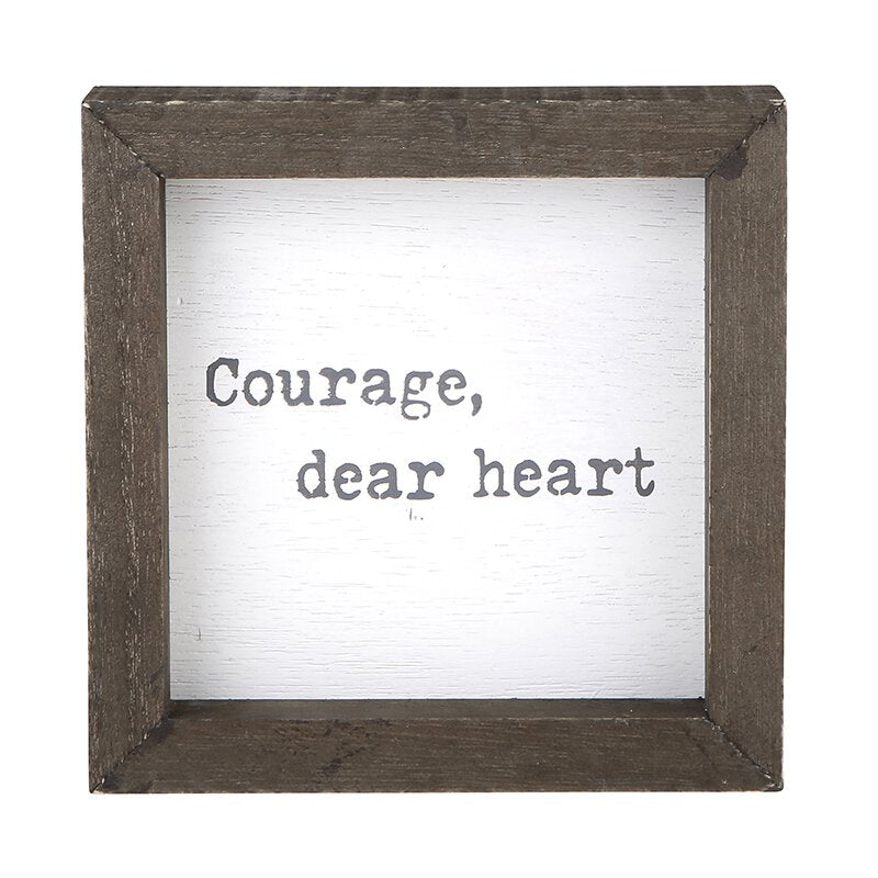 Eden Lifestyle Boutique, Home - Decorations,  Courage Box Frame
