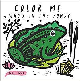 Eden Lifestyle, Book,  Color Me Who's in the Pond Bath Book