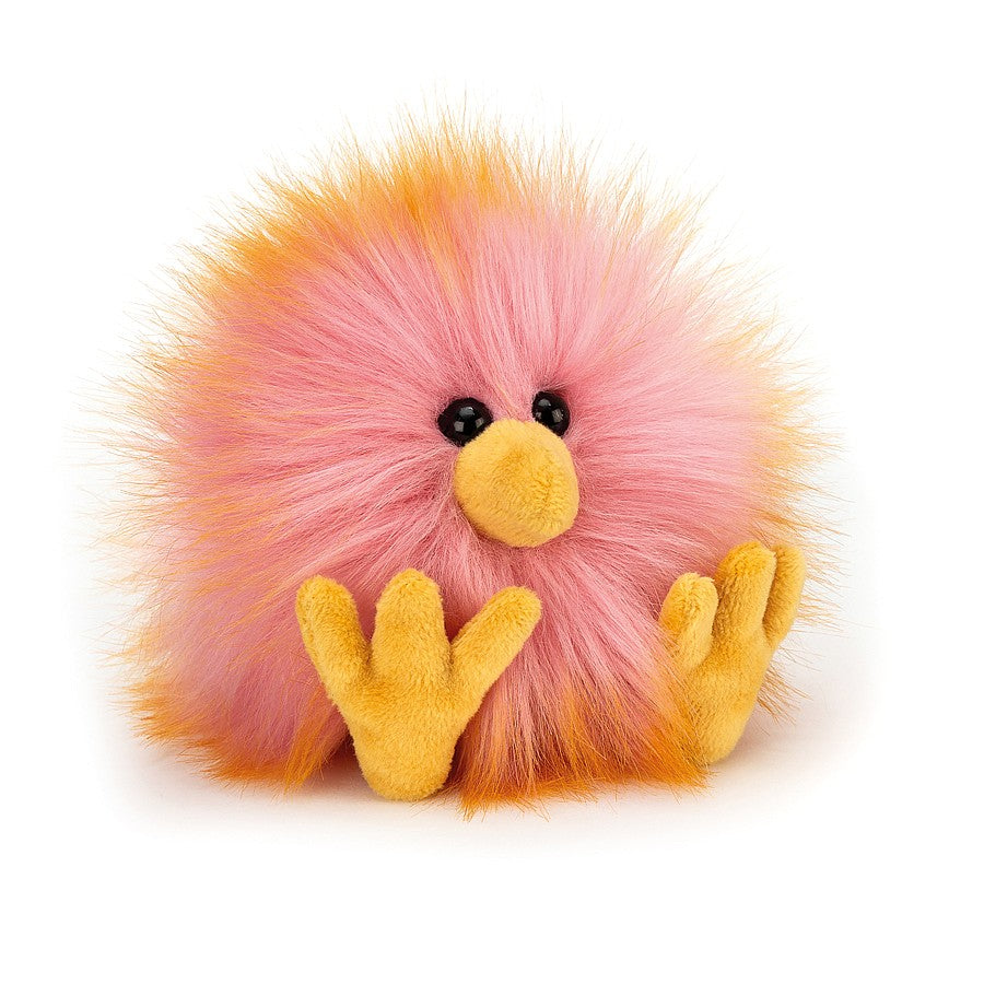 Jellycat Yellow & Pink Crazy Chick-Gifts - Stuffed Animals-Jellycat-Eden Lifestyle