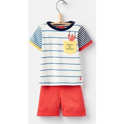 Marvin Woven Top and Short Set-Boys Sets-Joules-6-9M-Eden Lifestyle