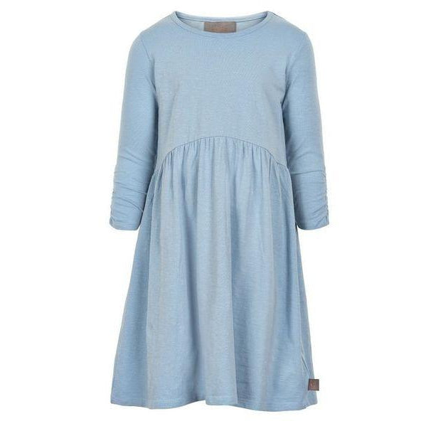 Creamie, Girl - Dresses,  Creamie Blue Jersey Dress
