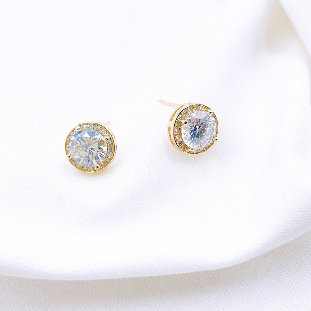 Eden Lifestyle, Accessories - Jewelry,  Crystal Stud Earring