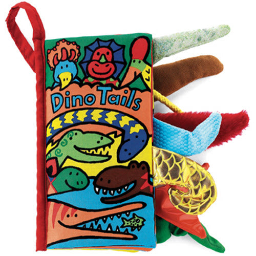 Jellycat, Books,  Jellycat Dino Tails Soft Book