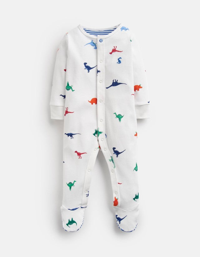 Joules, Baby Boy Apparel - One-Pieces,  Joules Ziggy Dino Print Baby Grow