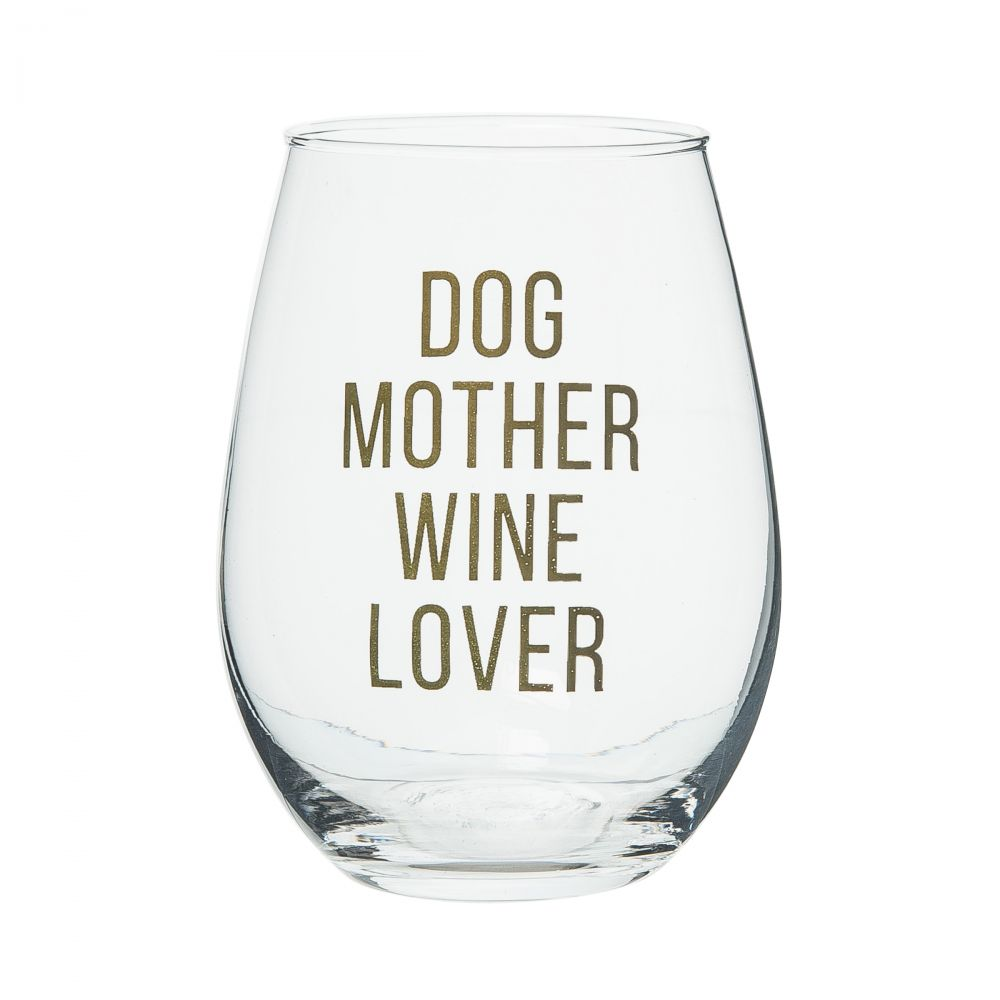 Dog Mom Wine Glass - Eden Lifestyle