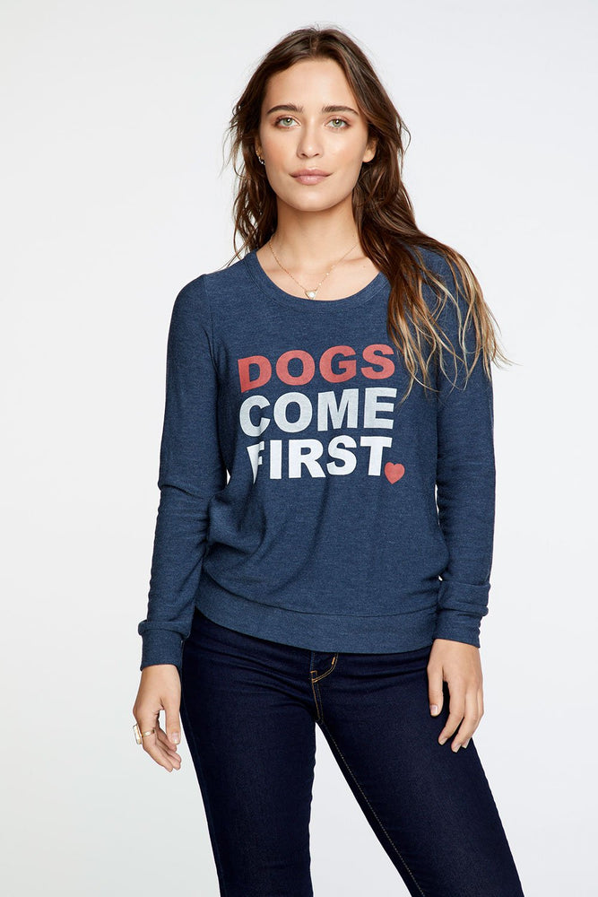 Chaser Dogs Come First Charity Sweatshirt