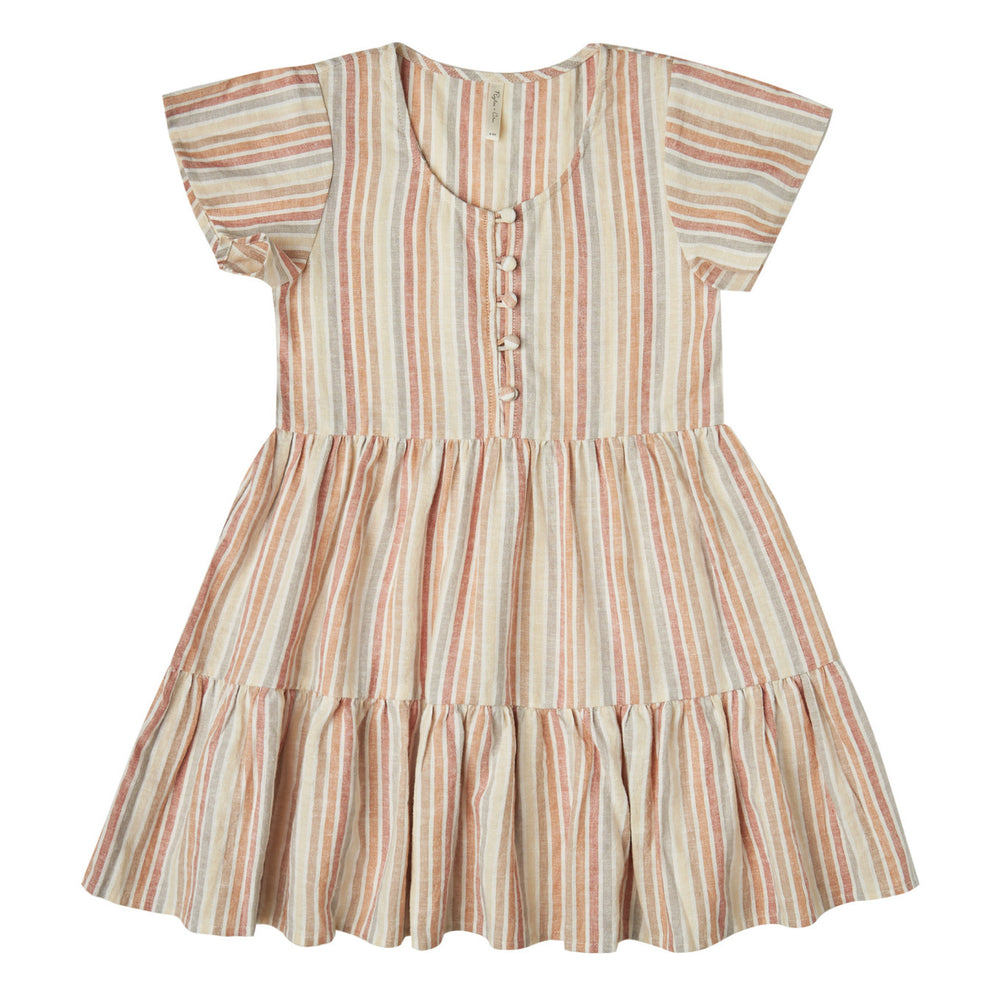 Rylee and Cru Multi Stripe Dolly Dress