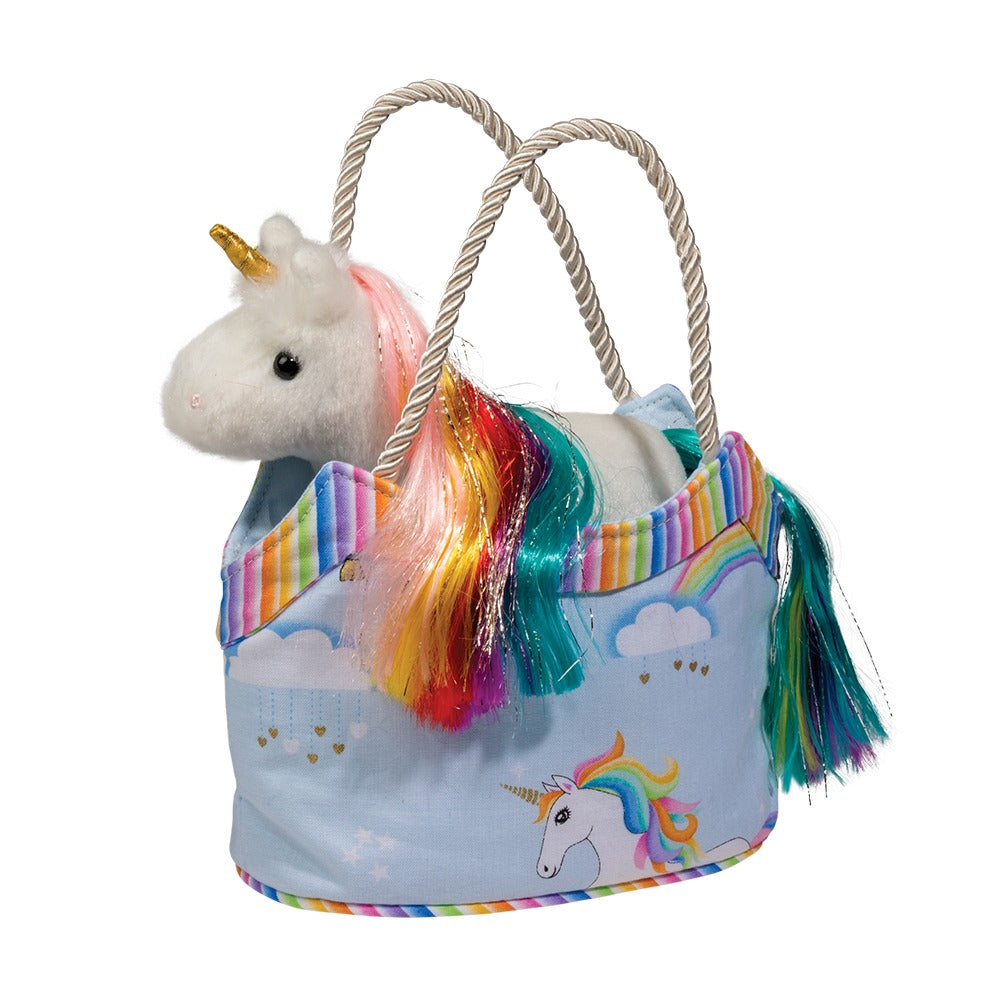 Rainbow Sky Purse with White Rainbow Unicorn-Gifts - Kids Misc-Eden Lifestyle-Eden Lifestyle