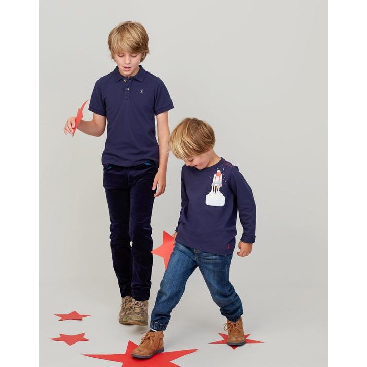 Joules Woody French Navy Polo-Boy - Shirts-Joules-4Y-Eden Lifestyle