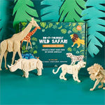 Do It Yourself Wild Safari Puzzles-Gifts - Puzzles & Games-Eden Lifestyle-Eden Lifestyle