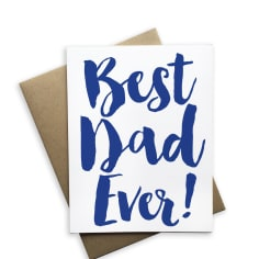 Tiramisu Paperie, Gifts,  Best Dad Ever - Greeting Card