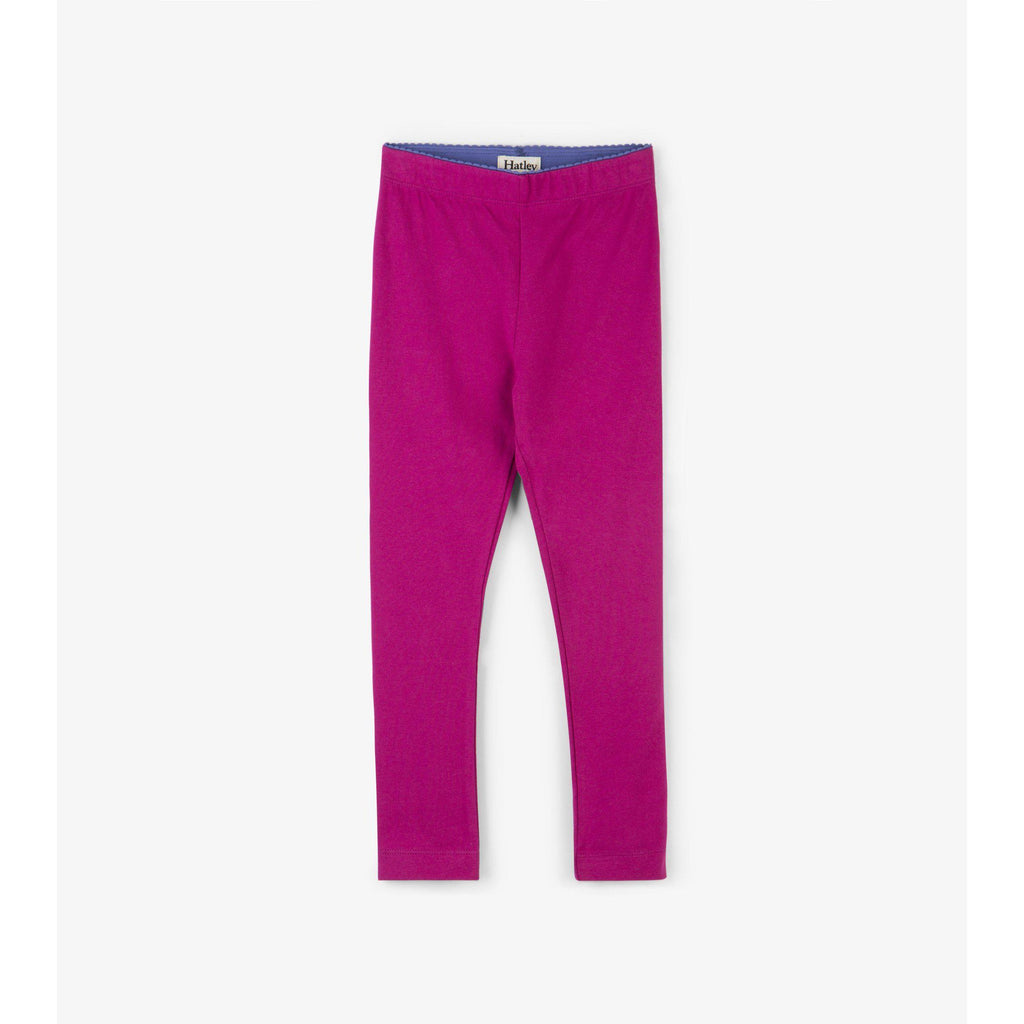 Hatley Magenta Leggings-Girl - Leggings-Hatley-4-Eden Lifestyle