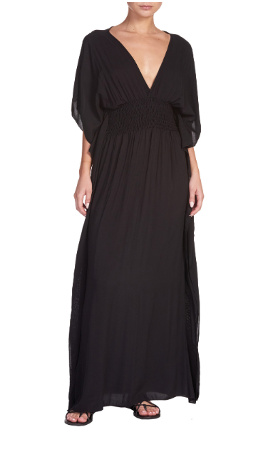 Black Betsy Maxi Dress