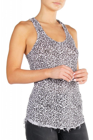 Elan International, Women - Shirts & Tops,  Leopard Tank