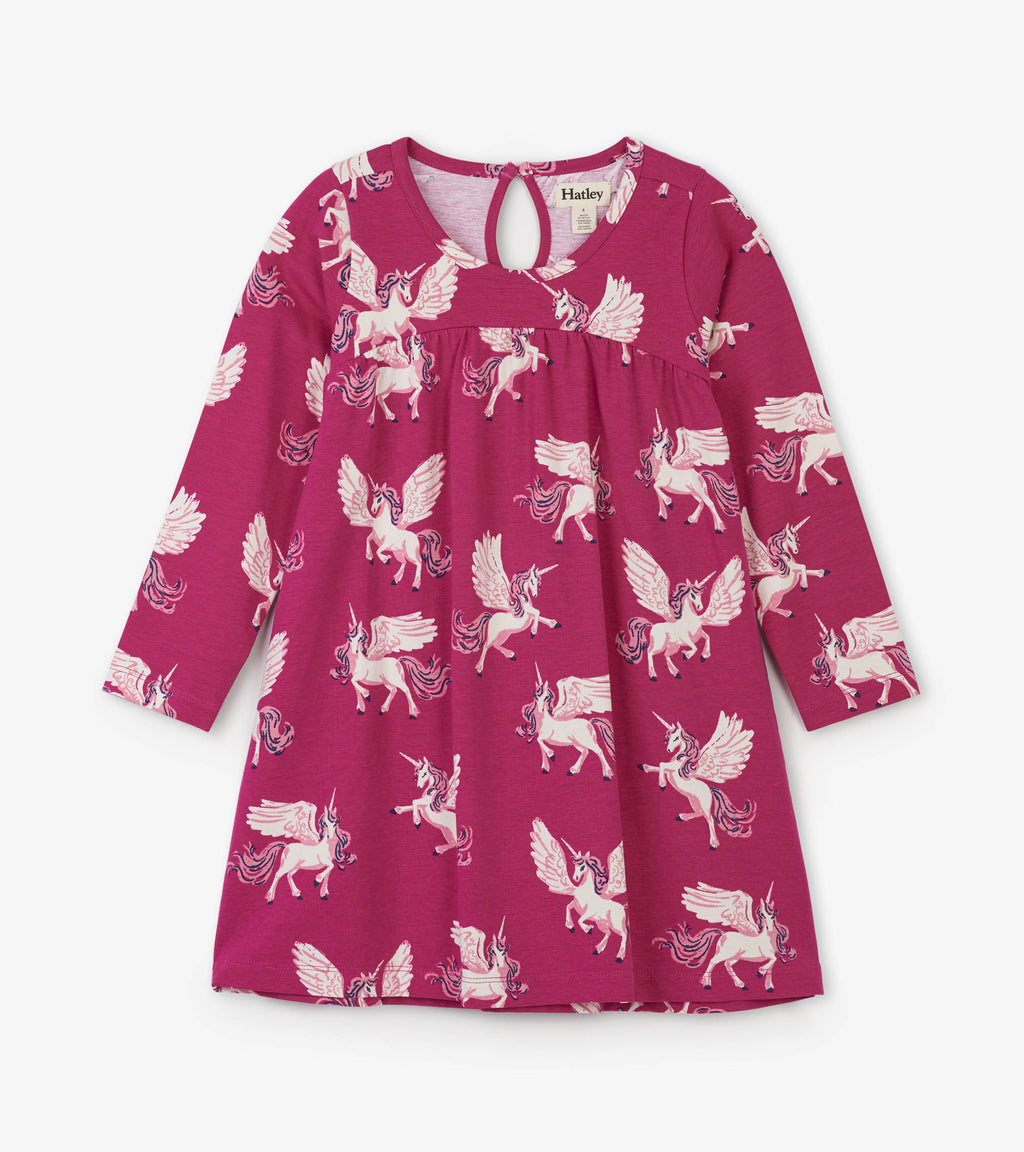 Hatley - Enchanted Unicorns Trapeze Dress