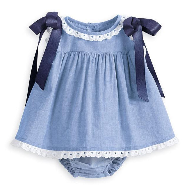 Bella Bliss, Dress, Eden Lifestyle, Eyelet Trim Bloomer Set