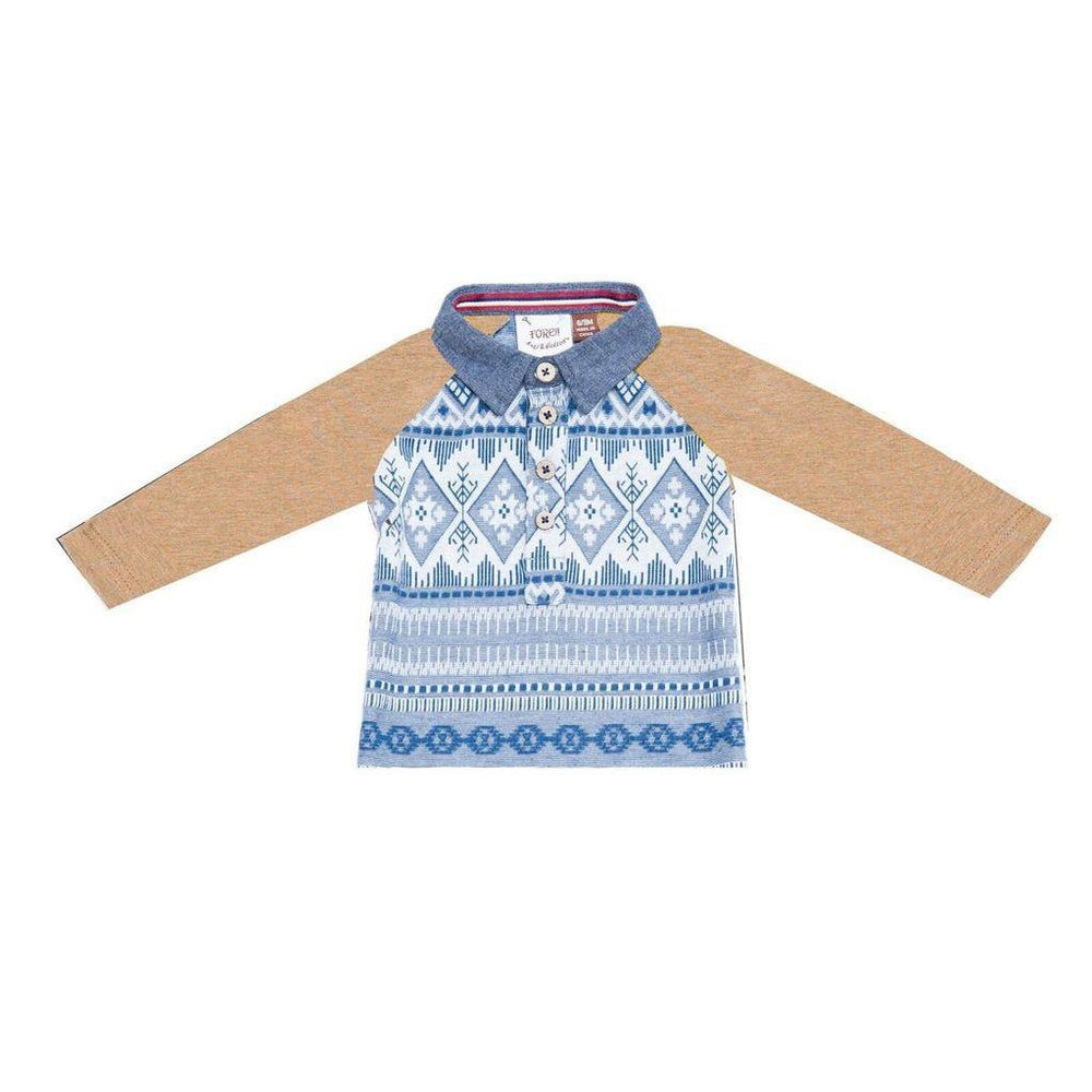 Fore, Baby Boy Apparel - Shirts & Tops,  Fore! Axel & Hudson Fair Isle Polo